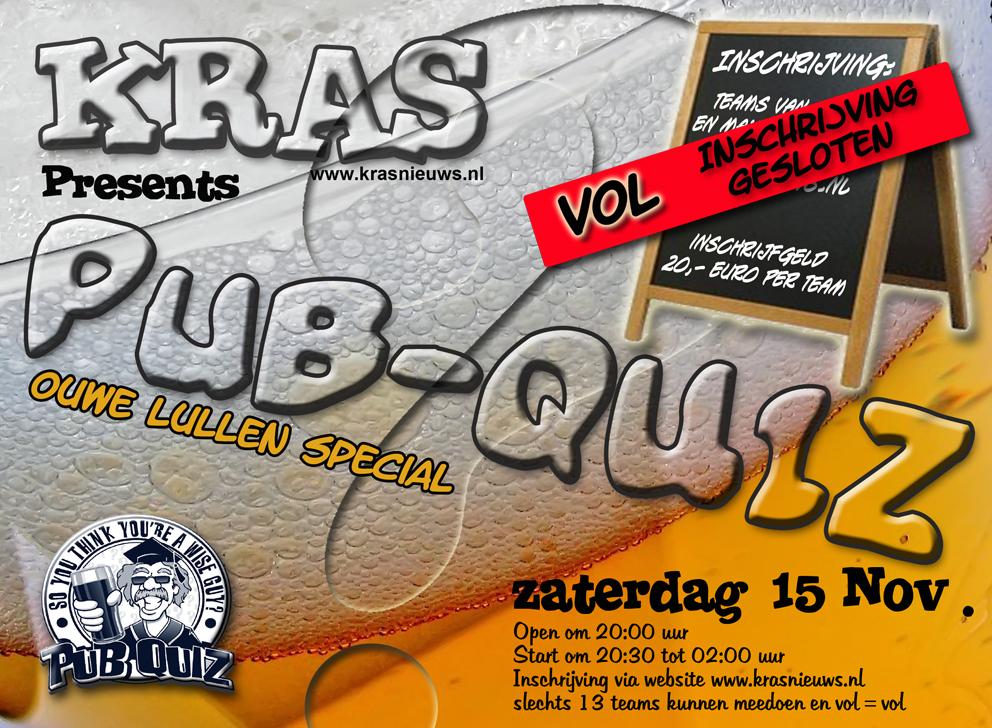 Kras pubquiz 2014 (ouwe lullen special VOL)